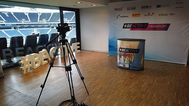 #BeActive TV | Bildquelle: DTB